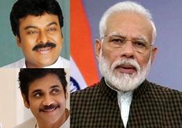 PM Modi all praises for Chiranjeevi and Nagarjuna