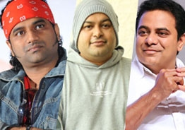 DSP, Thaman respond to KTR's attention-drawing post