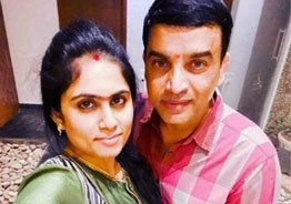 Dil Raju, wife ring in first anniversary in US