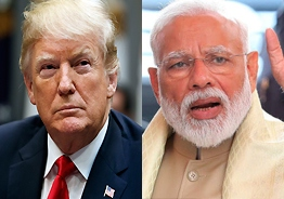 Your victory is BIG, Trump tells Modi