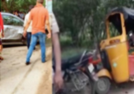 Teen boy causes death of months-old baby in road accident