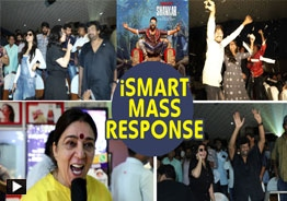 'ISmart Shankar' mass response @ RTC X Roads