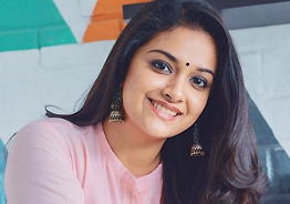 No-make-up Keerthy Suresh in sports romedy's First Look