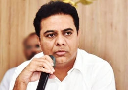KTR criticizes BJP for playing politics over vaccine