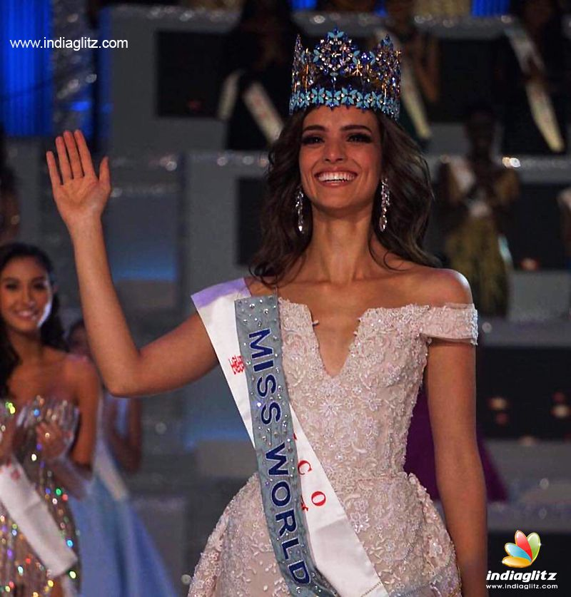 Mexico's Vanessa Ponce de Leon is Miss World 2018