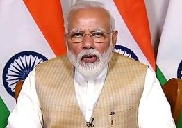 Light a lamp at 9pm on April 5: Modi