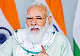 Vaccine speech: Modi quotes Gurujada's legendary line