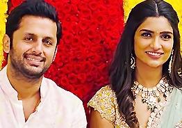 Nithiin gets engaged to Shalini!