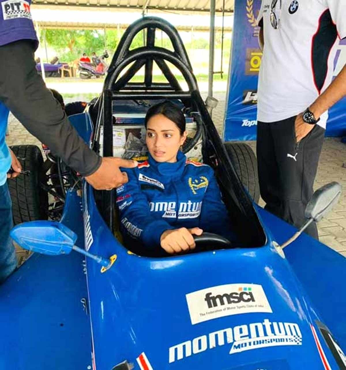 Nivetha Pethuraj is thrilled on becoming certified racer