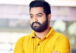 NTR uploads dynamic pic from shooting spot