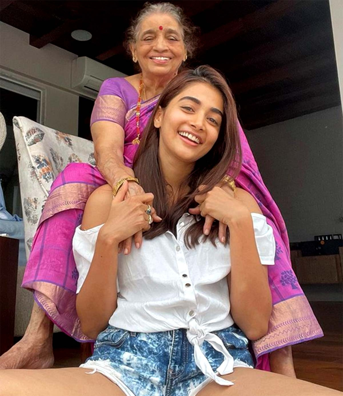 Pic Talk: Pooja Hegdes memorable time with grandmother