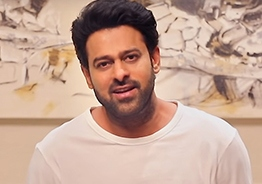 Prabhas promises a surprise