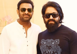 Pic Talk: Prabhas and 'KGF' star Yash clicked together