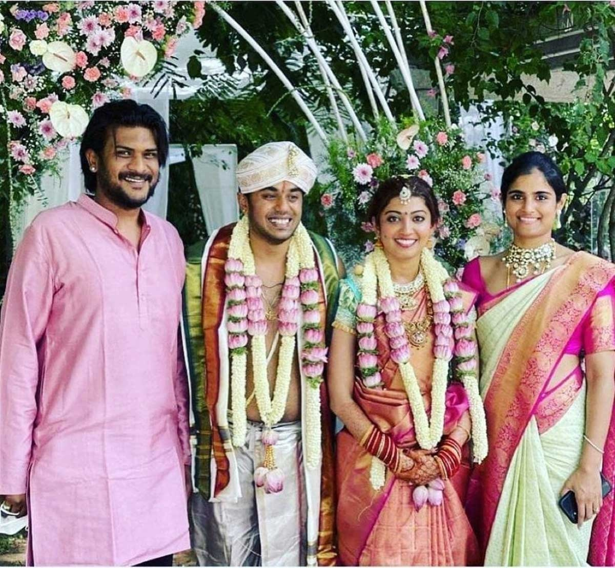 Pranitha Subhash marries businessman Nitin Raju