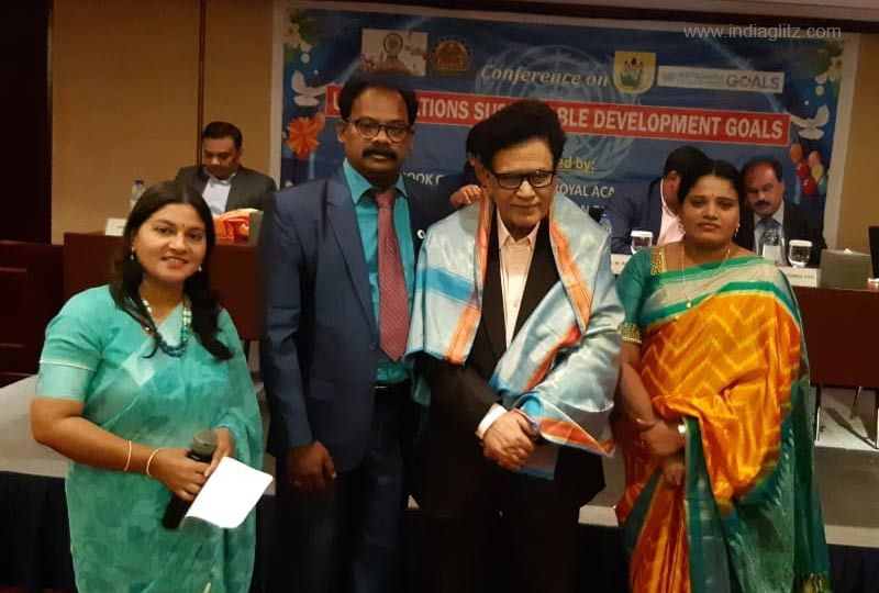 Haasam Raja feted with Asia Pacific Achievers Award