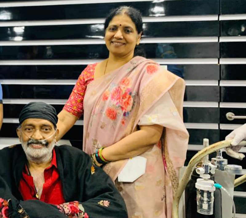 Good news! Rajasekhar gets discharged after recovering from COVID-19