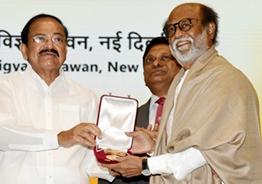 Rajinikanth flooded with congratulations on Dada Saheb Phalke Award