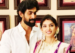 Pic Talk: Rana Daggubati celebrates Dasara with wife Miheeka