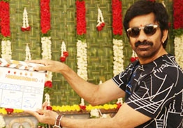 Ravi Teja's thriller with debutant director launched