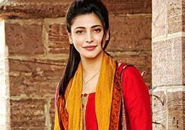 Shruti Haasan kicked about TV debut