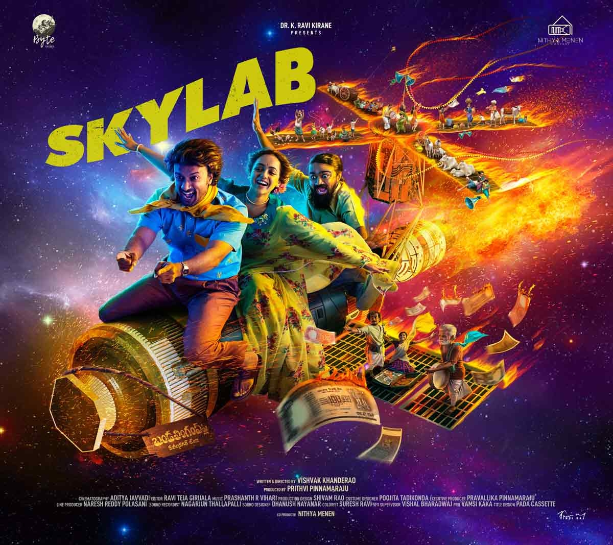 Nithya Menen is excited about Skylab