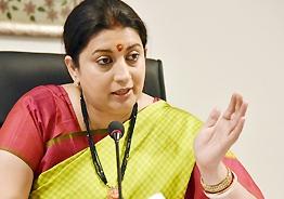 Smriti says Rahul has defamed all Indian men as rapists