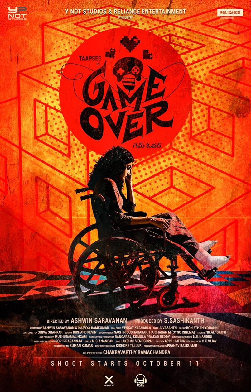 Taapsee new film titled Game Over