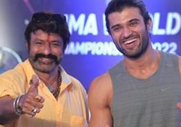 Vijay Deverakonda says 'Jai Balayya'