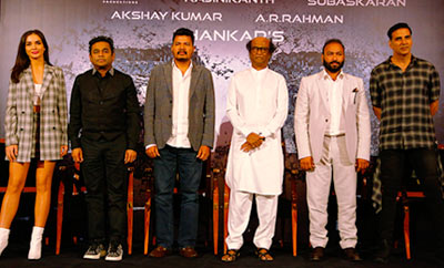 '2.0' Press Meet In Dubai