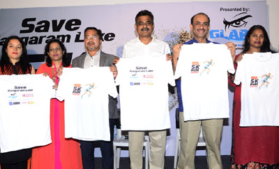 Save Gangaram Lake 5K  Run Press Meet