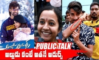 Alludu Adhurs Movie Public Talk