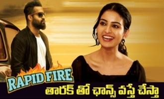 Rapid Fire With Actress Ananya Nagalla | Ntr | | Vakeel Saab | Pawan Kalyan |