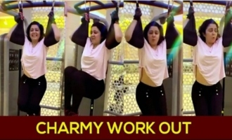 Charmy Kaur Workout Video