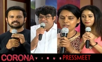 RGV Corona Virus Press Meet About Corona Virus Movie