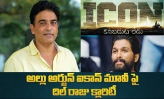 Dil Raju given clarity on Allu Arjun ICON movie