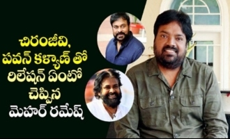 Meher Ramesh talks about his relationship with Chiranjeevi, Pawan Kalyan |  IG Telugu