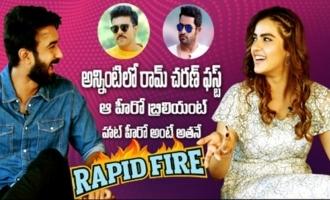 Ram Charan is Best: Kavya Thapar | Rapid Fire with Ek Mini Katha Team