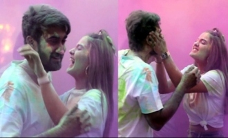 Ek Mini Katha Movie Team Holi Celebrations