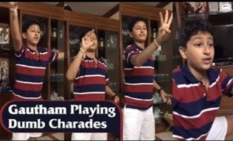 Mahesh Babu Son Gautham Playing Dumb Charades Game | IndiaGlitz Telugu