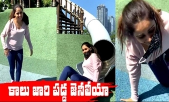 Genelia Deshmukh Funny Video |