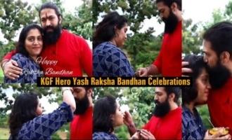 KGF movie Hero Yash Raksha Bandhan Celebrations | IndiaGlitz Telugu