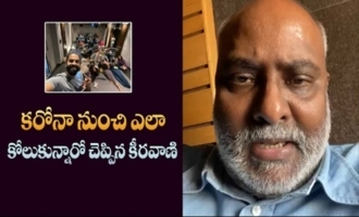 Music Director MM Keeravani About Corona Awareness