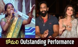 Singer Komali Outstanding Performance
