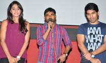 'Kotha Janta' Team Visits Theatres In Hyd