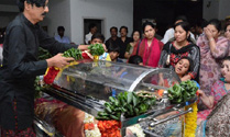 Last Respect to Manjula Vijayakumar