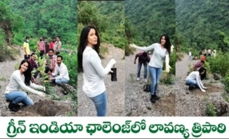 Lavanya Tripathi Accepts Nandini Reddy's Green India Challenge