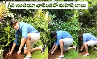 Superstar Mahesh Babu Accepts Green India Challenge