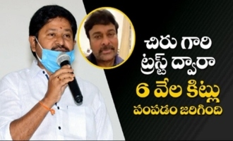 N Shanker About Chiranjeevi | CCC Press Meet