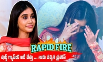 Rapid Fire With Nabha Natesh