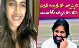 Niharika shares Childhood Memories with Pawan Kalyan